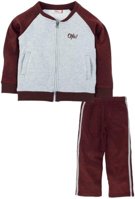 Oye Solid Baby Boy's Track Suit