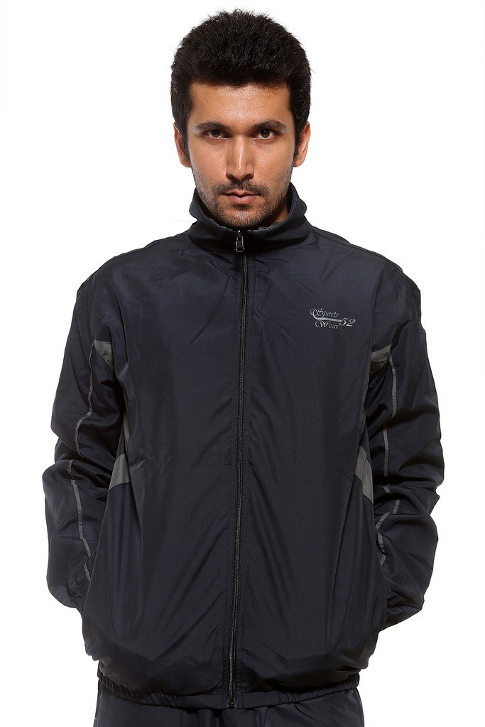 Sports 52 Wear 1695 Solid Mens Track Suit