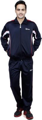 Leg-in Solid Men's Track Suit