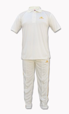 S-Mark Sweat-Control Cricket Jersey Solid Men's Track Suit