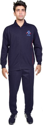 Ethiculture Solid Men's Track Suit