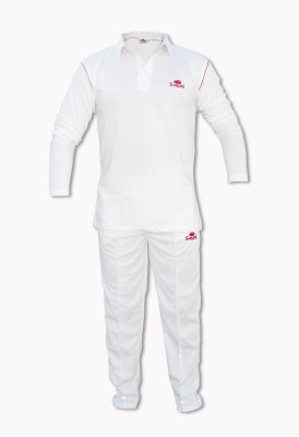 S-Mark Cricket Jersey Solid Men's Track Suit