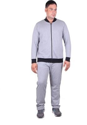 Vivid Bharti Solid Men's Track Suit