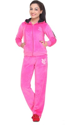 Clubyork 203 Solid Women's Track Suit
