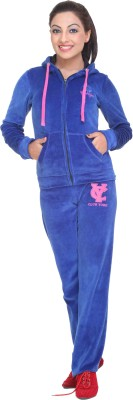 Clubyork 202 Solid Women's Track Suit