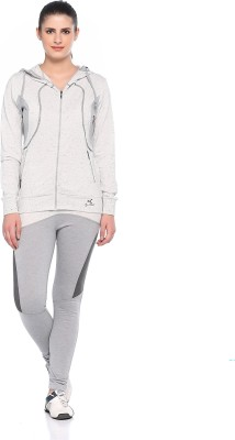 EX10SIVE Solid Women's Track Suit