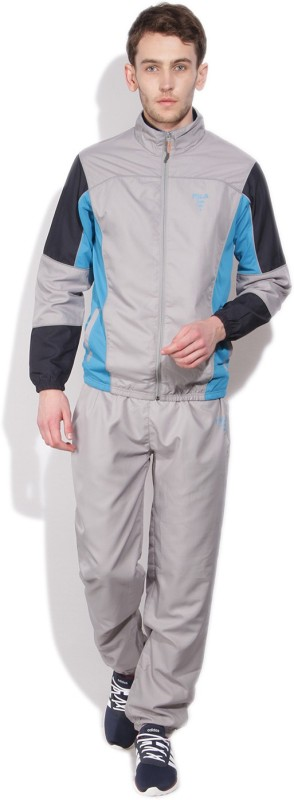 Fila Solid Men's Track Suit
