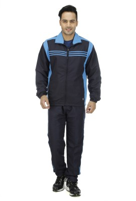 NU9 Solid Men's Track Suit