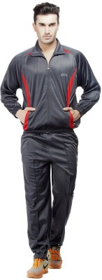 Jj Sports Solid Men's Track Suit