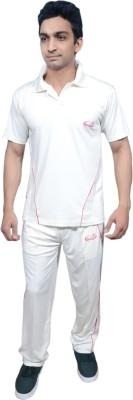 Prokyde Beta Relax White Cricket Set 101 Solid Men's Track Suit
