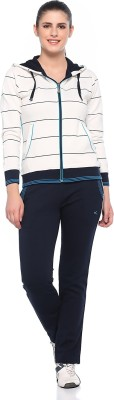 EX10SIVE Striped Women's Track Suit