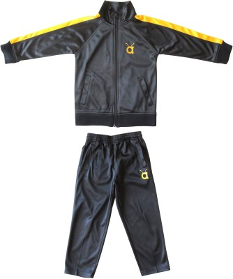 Anthill Solid Boy's Track Suit