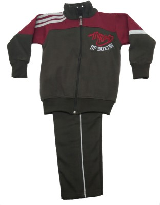 Krazzy Collection Solid Boy's Track Suit