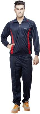 Jj Sports Solid Men's Track Suit