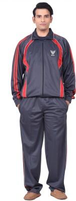 Jedan Solid Men's Track Suit