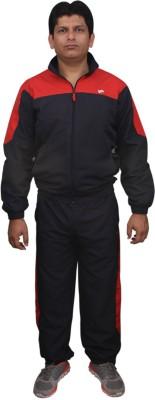 FitSoul Solid Men's Track Suit