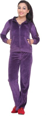 Clubyork 205 Solid Women's Track Suit