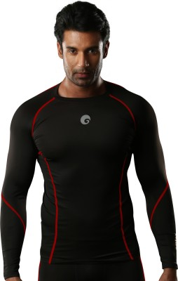 Omtex Compression Solid Mens Track Top