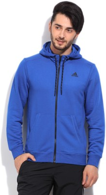 Adidas Solid Men's Track Top