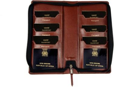 Sukeshcraft Tree Passport Holder For 6 Passports