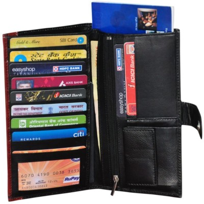 Modish Unisex Document holder / Cheque Book Holder / Money Wallet Purse - Black