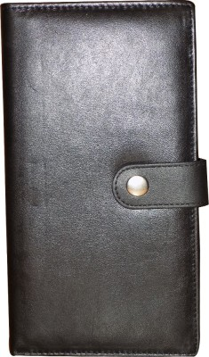 Kan Long Travel Passport Organizer & Cheque Book Pouch Document Holder with Zip For Men and Women