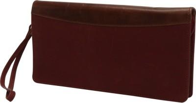 Indo Gifting Leather Zipped Travel Documents Holder