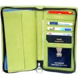 Sukeshcraft Travel Wallet Light Green (G...