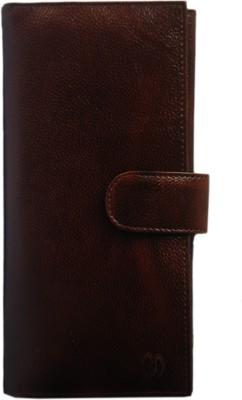 Modish Unisex Travel Passport Case/ Document holder / Cheque Book Holder / Money Wallet Purse/ Currency Holder/Ticket Holder - Brown