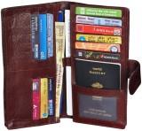 Gleam 00% Genuine Leather Travel Passpor...