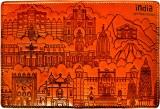 Indiavibes Passport Holder/Cover of PU L...