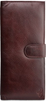 Contrast Men's Card and Document Holder (passport Holder) in Coffee Bean Shade