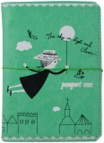 Pankhudi Travel Wallet (Green)