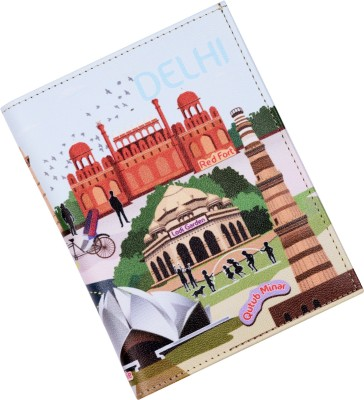 Mad(e) in India Delhi City Passport Holder(Multicolour)