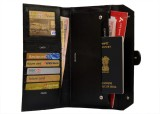 Attache Genuine Leather Travel Passport ...