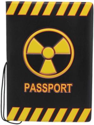 Tootpado Radioactive Material Portable Foldin Passport Cover Card Holder