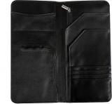 Goblin PU Black Passport Holder (Black)