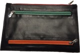 Leather Mall Leather 5 Color Zipper Trav...