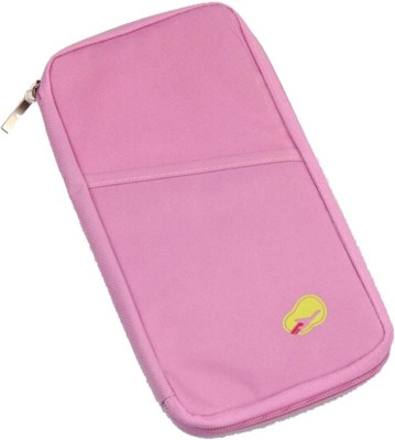 Inventure Retail Long Travel Passport Organizer Wallet With Zip For Credit Card Ticket Coins Money Cash Currency Boarding Pass Pen