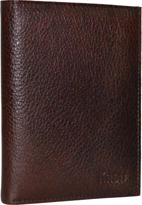 Knott Knott Premium Brown Passport Holder