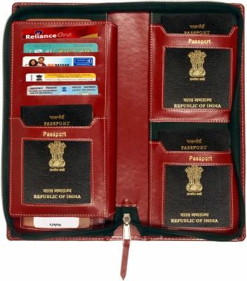 Sukeshcraft Family.Holder for 6 passport