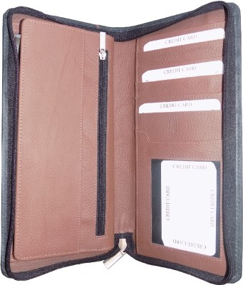 Kan Premium Quality Travel Passport Cover and Travel Document Holder for 4 Passports