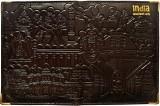 Indiavibes Genuine Leather Passport Trav...