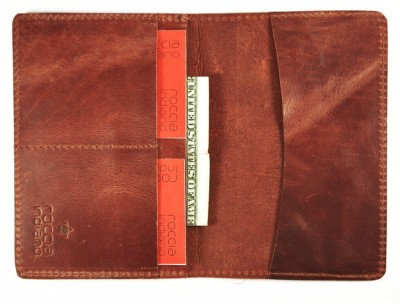 Rocciaindiano Handcrafted Document Organizer Passport And Card Holder Plus Minimal Wallet