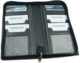 Essart Travel Document Holder (Black)