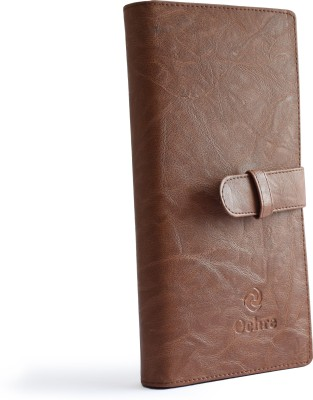 Ochre Tan Document holder with Mobile Phone