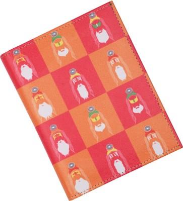 Mad(e) in India Sadhu Passport Holder(Multicolour)