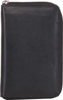 Walletsnbags Nappa Full Zip Passport & Ticket Holder
