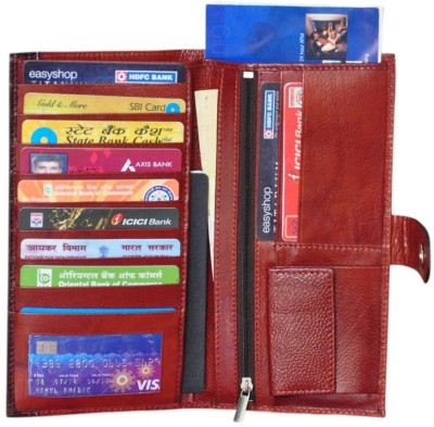 Modish Unisex Document holder / Cheque Book Holder / Money Wallet Purse - Tan