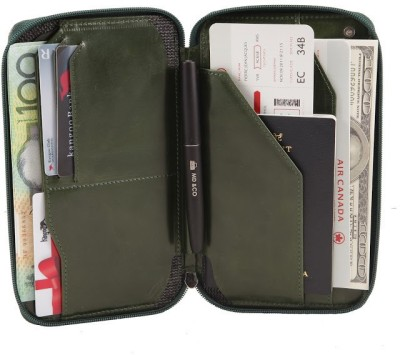 Kangoo Detective Leather Passport Holder